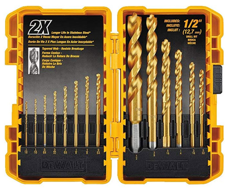 Best Drill Bits for the Home Workshop