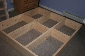 build a bed base